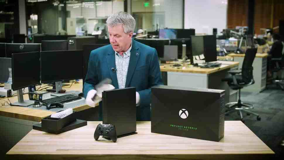 Xbox One X: Unboxing der limitierten Project Scorpio Edition